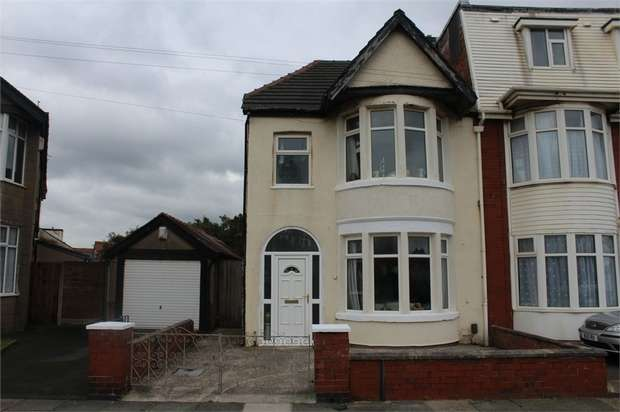 3 Bedrooms Semi Detached House for sale in Ventnor Road, Blackpool, Lancashire