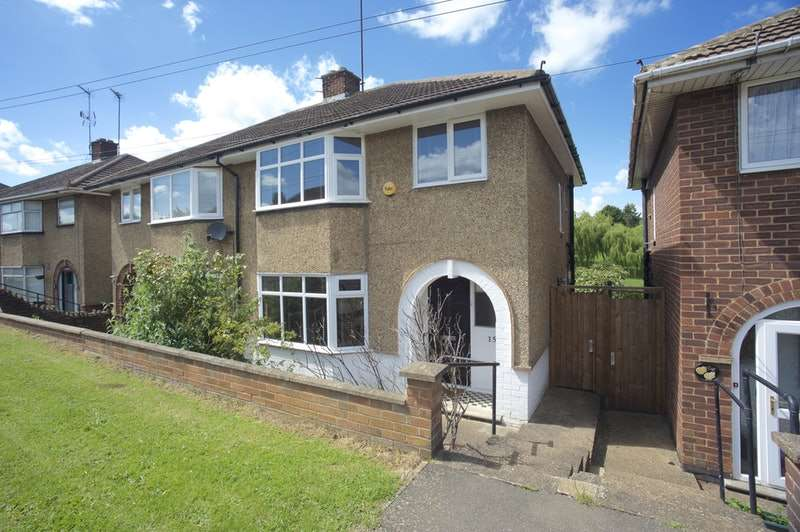 3 Bedrooms Semi Detached House for sale in Fairway, Northampton, Northamptonshire, NN2