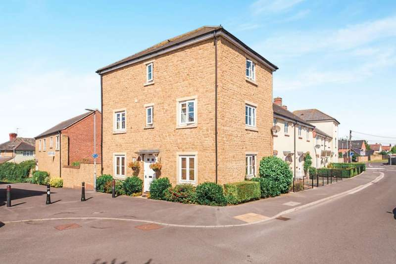 4 Bedrooms Semi Detached House for sale in Vincent Way, Martock, Somerset TA12