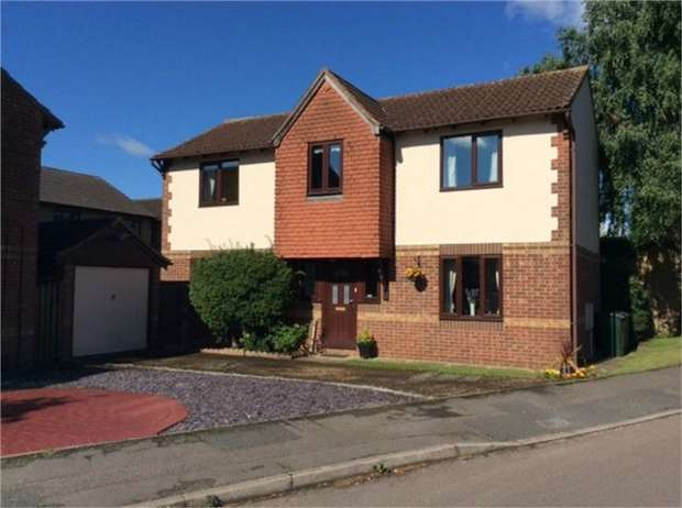 4 Bedrooms Detached House for sale in Willow Drive, Bicester, Oxfordshire