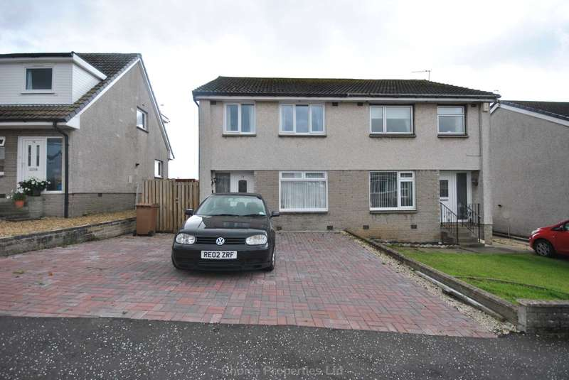 3 Bedrooms Semi Detached House for sale in Belvedere View, Galston, KA4 8QD