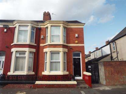 6 Bedrooms Terraced House for sale in Connaught Road, Liverpool, Merseyside, L7