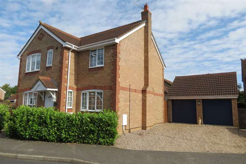 4 Bedrooms Detached House for sale in Barnes Close, Sleaford