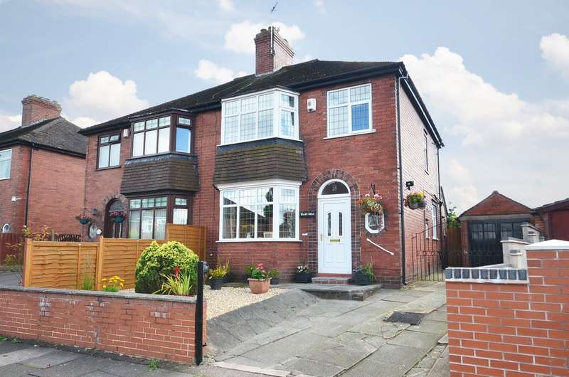 3 Bedrooms Semi Detached House for sale in Parkfield Road, Dresden, ST3 4NT