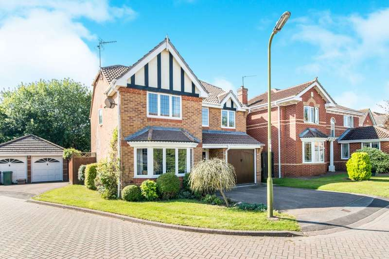 4 Bedrooms Detached House for sale in Crabtree Way, Old Basing, Basingstoke, Hampshire RG24