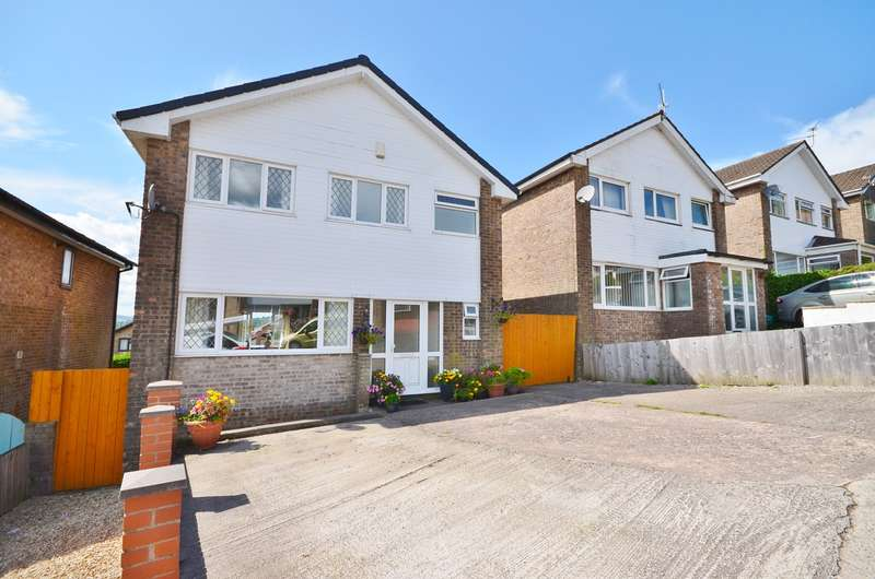 4 Bedrooms Detached House for sale in Greenacre Drive, Bedwas, Caerphilly, CF83