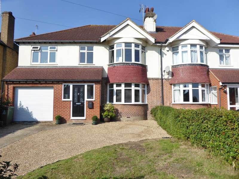 5 Bedrooms Semi Detached House for sale in Barnehurst Road, Bexleyheath, Kent, DA7 6HA