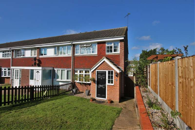 3 Bedrooms End Of Terrace House for sale in Swallow Path, Chelmsford
