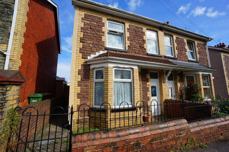 3 Bedrooms Semi Detached House for sale in Park Place, Risca, Newport, NP11