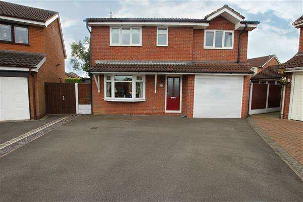 5 Bedrooms Detached House for sale in Whitesands Grove, Meir Park, Stoke-on-Trent