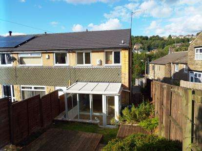 2 Bedrooms End Of Terrace House for sale in Langdale Crescent, Wheatley, Halifax, West Yorkshire