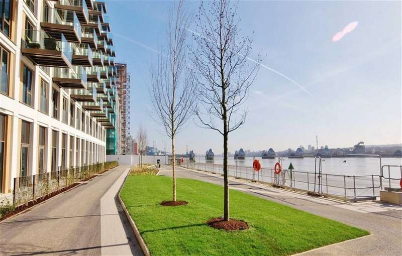 3 Bedrooms Apartment Flat for sale in Royal Wharf, Royal Wharf, E16