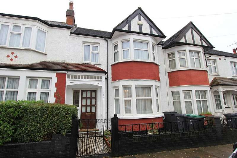 3 Bedrooms Terraced House for sale in Lyndhurst Road, Wood Green, London, N22 5AU