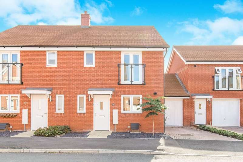 3 Bedrooms Semi Detached House for sale in Tarver Close, Romsey, SO51