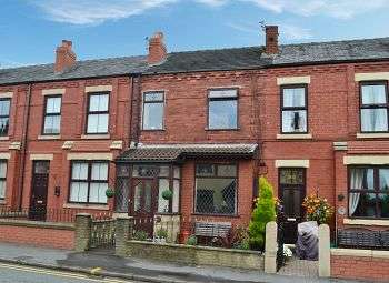 3 Bedrooms Terraced House for sale in Warrington Road, Abram, Wigan, WN2 5XY