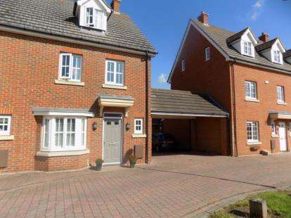 4 Bedrooms End Of Terrace House for sale in Great Baddow, Chelmsford, Essex