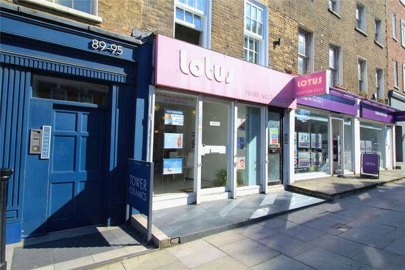 Retail Property (high Street) Commercial for sale in Parkway, London, NW1