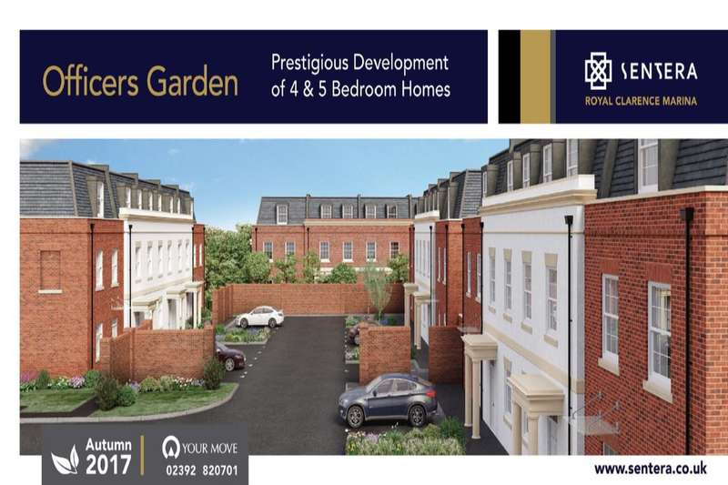 4 Bedrooms Property for sale in Officers Gardens Royal Clarence Marina, Gosport, PO12
