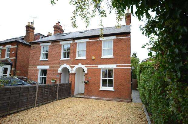 4 Bedrooms Semi Detached House for sale in London Road, Wokingham, Berkshire