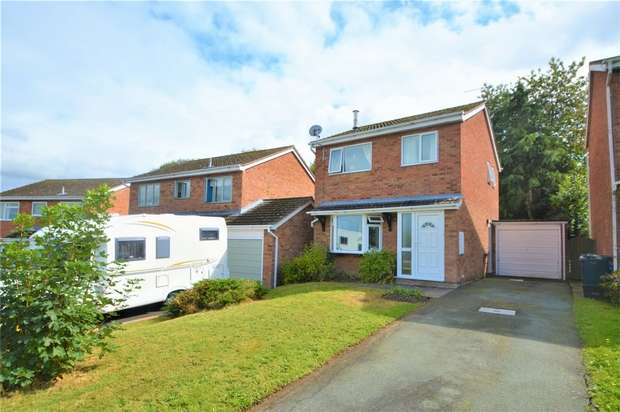 3 Bedrooms Detached House for sale in 64 Severn Way, Cressage, Shrewsbury, Shropshire