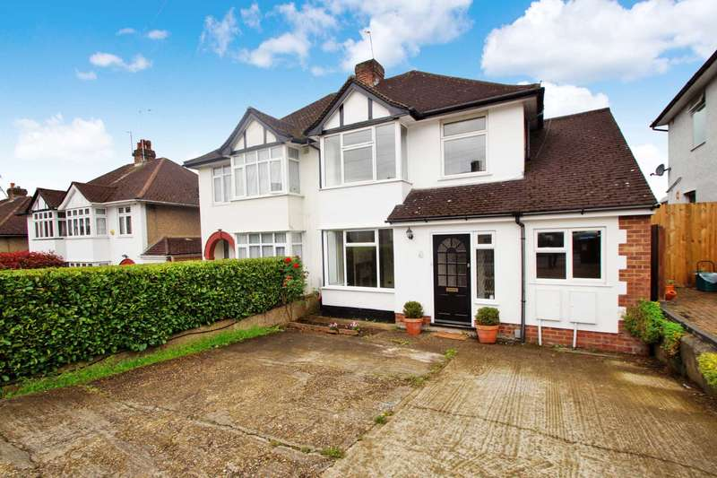 3 Bedrooms Semi Detached House for sale in Chambersbury Lane, Nash, Mills, Hemel Hempstead