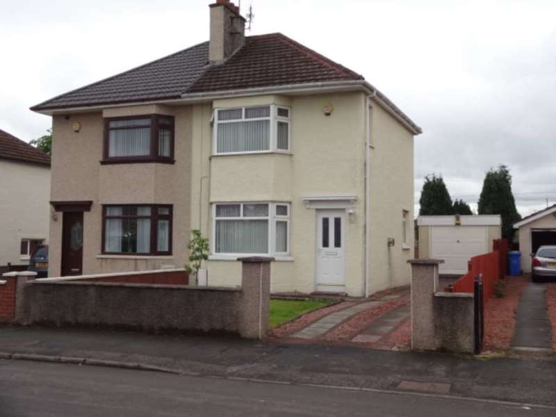 2 Bedrooms Semi Detached House for rent in Sugworth Avenue, Baillieston
