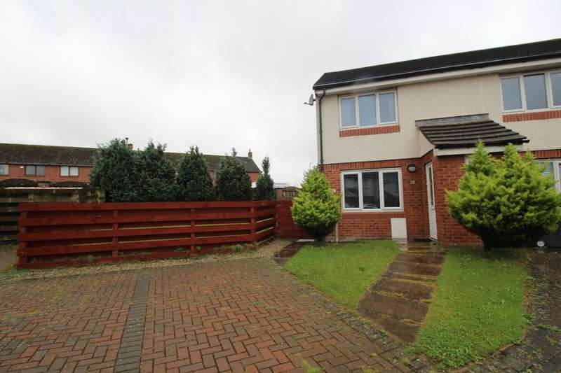 2 Bedrooms Semi Detached House for sale in Argyll Drive, Carlisle, CA1