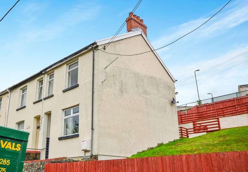 2 Bedrooms End Of Terrace House for sale in Edward Terrace, Abertridwr, CF83