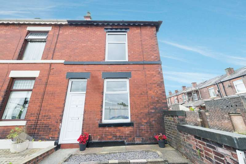 2 Bedrooms End Of Terrace House for sale in 31 Sankey Street, BURY, BL9