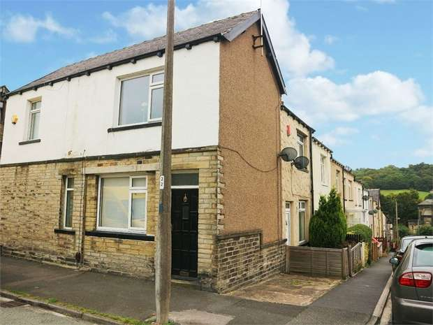 2 Bedrooms End Of Terrace House for sale in Queens Road, Keighley, West Yorkshire