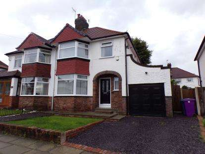 3 Bedrooms Semi Detached House for sale in Babbacombe Road, Childwall, Liverpool, Merseyside, L16