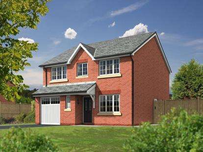 4 Bedrooms Detached House for sale in Red House Gardens, Bolton Road, Blackburn, BB2