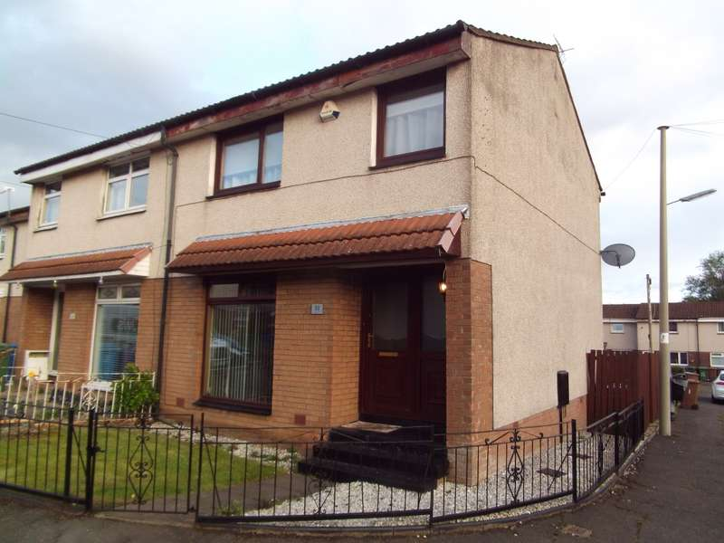 3 Bedrooms End Of Terrace House for sale in 21 Ardargie Drive, Carmyle, Glasgow, G32 8NW