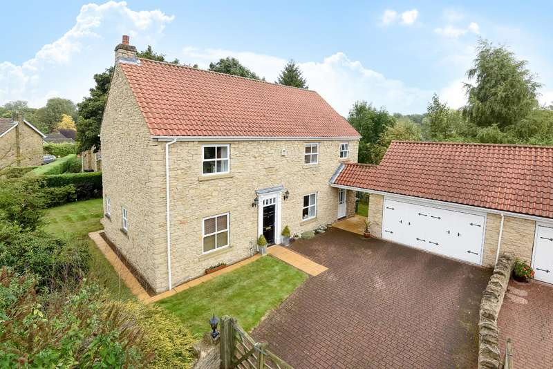 4 Bedrooms Detached House for sale in Main Street, Monk Fryston, Leeds, LS25 5EG