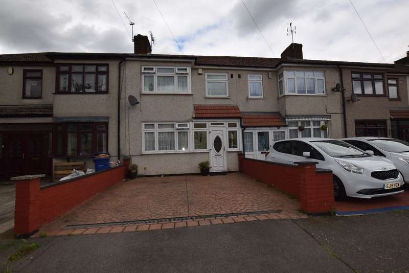 3 Bedrooms Terraced House for sale in Castle Avenue, Rainham, Essex, RM13