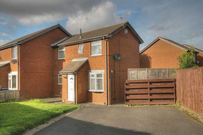 2 Bedrooms Semi Detached House for sale in Meadow Rise, Meadow Rise, Newcastle Upon Tyne, NE5