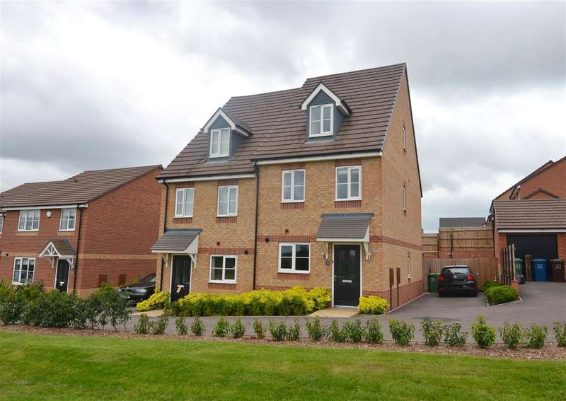3 Bedrooms Town House for sale in Quincy Way, Stafford