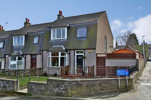 3 Bedrooms End Of Terrace House for sale in Brown Street, Aberdeen
