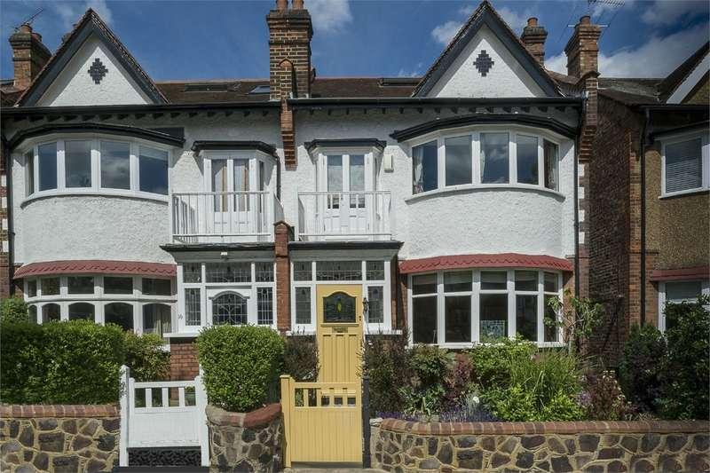 5 Bedrooms Semi Detached House for sale in Grosvenor Road, Muswell Hill, London