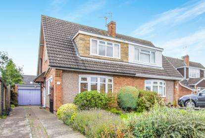3 Bedrooms Semi Detached House for sale in Horwood Close, Wigston, Leicester, Leicestershire