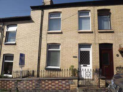 2 Bedrooms Terraced House for sale in Marcus Street, Caernarfon, Gwynedd, LL55