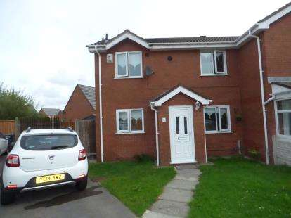 2 Bedrooms End Of Terrace House for sale in Whittlewood Court, Kirkby, Liverpool, Merseyside, L33