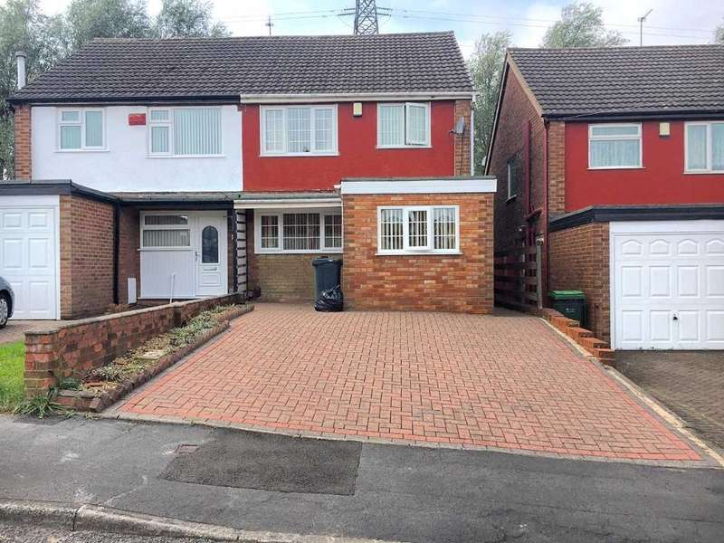 3 Bedrooms Semi Detached House for sale in ARDAV ROAD, WEST BROMWICH, WEST MIDLANDS, B70 0QU