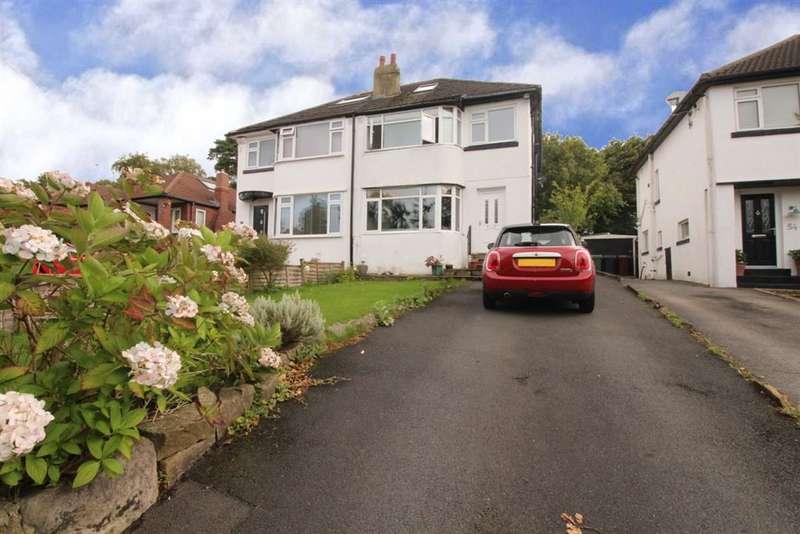 4 Bedrooms Semi Detached House for sale in Hillcrest Rise, Cookridge, LS16