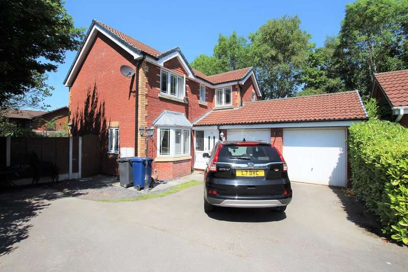 4 Bedrooms Detached House for sale in Summerfield Close, Walton-Le-Dale, Preston