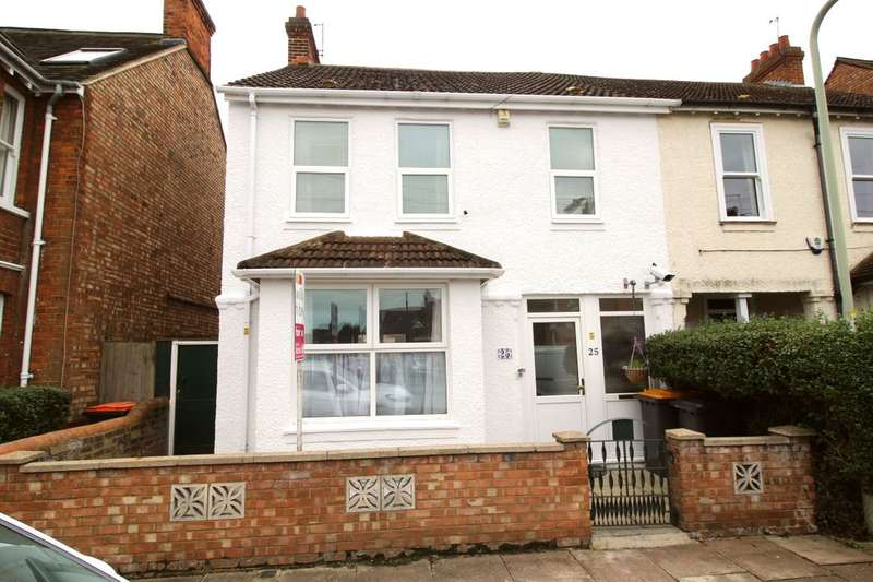 4 Bedrooms Semi Detached House for sale in Campbell Road, Bedford, MK40