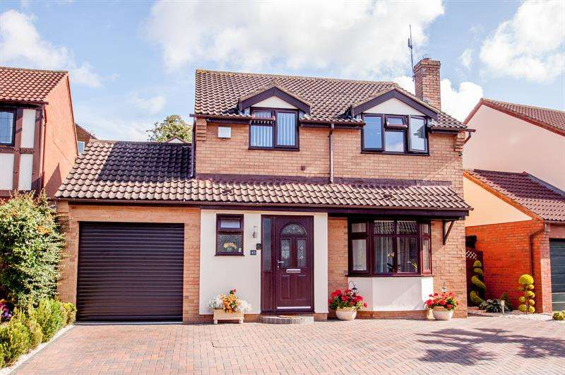 4 Bedrooms Detached House for sale in Vaga Crescent, Ross-On-Wye
