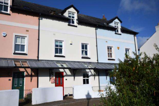 4 Bedrooms Terraced House for sale in Shoreside, Shaldon, Devon
