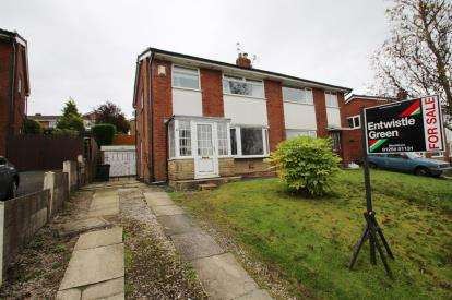 3 Bedrooms Semi Detached House for sale in Calgary Avenue, Lammack, Blackburn, Lancashire, BB2