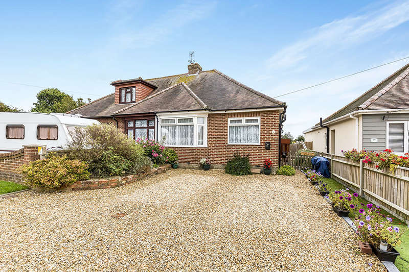2 Bedrooms Semi Detached Bungalow for sale in Ingledene Close, Havant, PO9